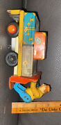 Antique Toys Marks Wind Up Airport Baggage Truck