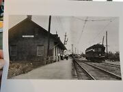 1948 Fort Chambly Trolley Railroad Station Montreal Canada 8x10 Photo