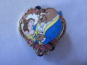 Disney Trading Pins 95971 Jerry Leigh - Beauty And The Beast Be Mine Heart