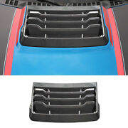 Real Carbon Fiber Engine Protection Cap Cover Trim Fit For Ford F-150 2015-2020