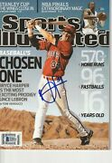 Bryce Harper Signed 6/8/09 Sports Illustrated W/ Beckett Loa No Label 1st Cover