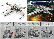 Lego 9493 X-wing Starfighter 2012 New Sealed Bags 2 3 4 5 Manual Star Wars