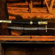 Damascus Steel Swords Hand Forged Replica