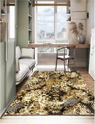 Natural Organic Wool Area Rug 7x10 Ft 200x300 Cm