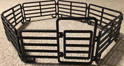 Farm Pasture Big Country 1/20 Scale 7 Piece Corral Cattle Horse Fence Set Toy