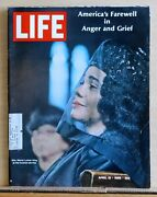 Life Magazine - April 19, 1968 - Dr. Martin Luther King Funeral - Vietnam Peace