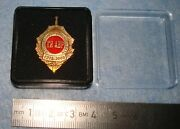 Pin Badge Foreign Intelligence Service Of Russia Russian Spy Academy 1975 - 2000