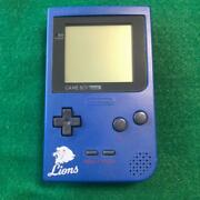 Used Nintendo Gameboy Pocket Lions Models Rare Leo Limited Console