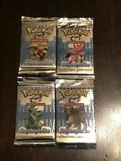 Pokemon Aquapolis Factory Sealed Booster Pack All 4 Artwork
