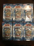 Yu-gi-oh Tactical Evolution 1st Edition Blister Pack- Lot Of 6