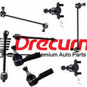 8pc Inner Outer Tie Rod End Sway Bar Link Lower Ball Joint For Vibe Matrix