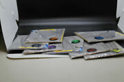 Lot Of 7 Sealed Set Pokemon Eevee Coin With Paper Tcg Playmats Nip