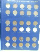 Partial Set Flying Eagle And Indian Head Cent 53 Coins Lacks 5 Great Set Q4qq