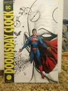 Doomsday Clock 1-12 Full Run +extra Superman And039band039 Spot Color Variant 14 Book Lot