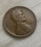 1909 Vdb Lincoln Wheat Penny Cent