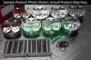 Manley Forged Platium Series Extreme Duty Pistons 5.0l Coyote Dome 3.635 11.01