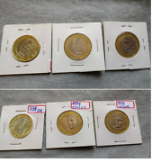 Brazil 1998 Universal Declaration Of Human Rights R1,00 Real Plus 98/99 Coins
