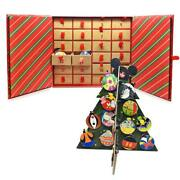 World Of Disney Holiday Countdown Advent Calendar Pin Set 2020 Andndash Limited Release
