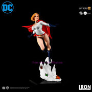 Perfect Iron Studios Power Girl Art Scale 1/10 - Dc Comics Statue Toy In Stock