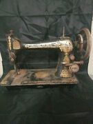 Antique Singer Sewing Machine Patented 1891 Bc2017 No Table Just Machine