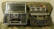 As Is Vintage Seeburg Consolette Sc-1 Wall Box With Key Remote Stereo Jukebox