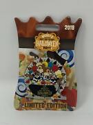 Disney Mnsshp 2018 Chip And Dale Halloween Party Le Pin