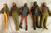 Vintage 1974 Mego Planet Of The Apes 8 Action Figures Astronauts And Soldiers