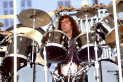 Neil Peart Of The Band Rush Performs At Comiskey Park 1979 Old Music Photo 1