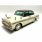 Toyopet Crown Deluxe Cream X Black Tin Toys Made In Japan