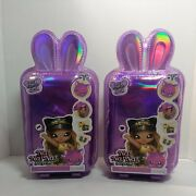 2 Nanana Surprise Series 3 Annabelle Moooshe Cow 2 In 1 Fashion Doll Pom Purse