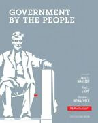 Government By The People 2012 Election Edition Plus Mypoliscilab With Etext --