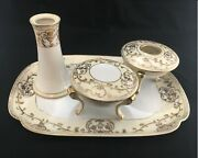 Antique Noritake Hand Painted Six Piece Made In China Vanity Set