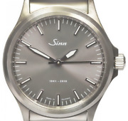 Used /sinn 556 55th Anniversary Limited To 1000 Pieces Worldwide Gray Dial Menand039s