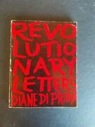 Revolutionary Letters By Diane Diprima Personal Inscription Signed By Authorandnbsp
