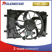 Radiator Cooling Fan Assembly For 10-12 Ford Fusion 11-12 Lincoln Mkz Fo3115183