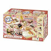 Cooking Toy Kururin Mackie Sushi Roll Preparing Kit Party And Ch-2011 Rice Maker