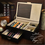 Fountain Pen Genuine Leather Collection Box For 16 Pieces