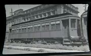 Original Msc Montreal Southern Counties Railway Trolley Canada Photo Negative