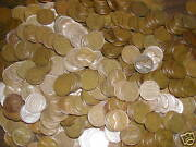 Lincoln Wheat Cent Penny Bag Lot Mixed Thirties Pds 500 Coins New Mix Read