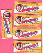 Great Pete Rose Lot-7 1979 Rose Supercharger Candy Bar Wrappers And 3 Box Tops