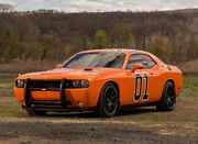 Dodge Challenger 2008-2014 Front Push Bar- Police Car - Dukes Of Hazzard Look