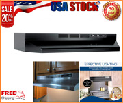Ductless Range Hood Insert With Light, Exhaust Fan For Under Cabinet, 30-inches