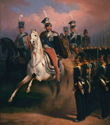 Oil Painting Handpainted On Canvas Joseph Before The Grenadier Front