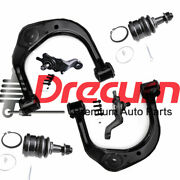 6pc Front Upper Control Arm Lower Ball Joint Kit For 1995-2004 Toyota Tacoma 4wd
