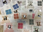 U.s. First Day Covers 1938 Presidential Crosby Cachet Block Up To 50andcent