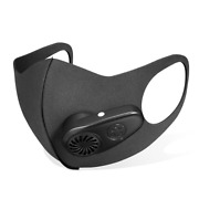 New Fresh Air Purifying Electric Respirator Face Mask Cooling Fan Dust Pollution