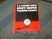 U. S. Marine Corps Scout-sniper Training Manual By Usmc, 1989 Softcover Vg