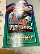 Unused Pass Given To Those On The Field At Dan Marino's Jersey Retirement.