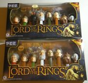 Pez Lord Of The Rings Regular And Walmart Limited Edition Box Sets Mint Retired