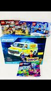 Playmobil Scooby-doo Mystery Machine And Lego 30553-30533-30555-30528
